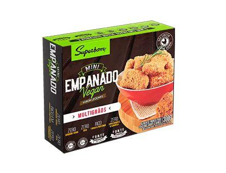 Mini Empanados de Legumes 300g - Superbom