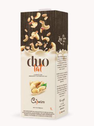 Leite Duolat Amendoim e Castanha 1L - Cajueiro