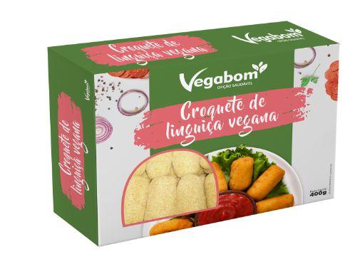 Croquete de Linguiça Vegana 400g - Vegabom