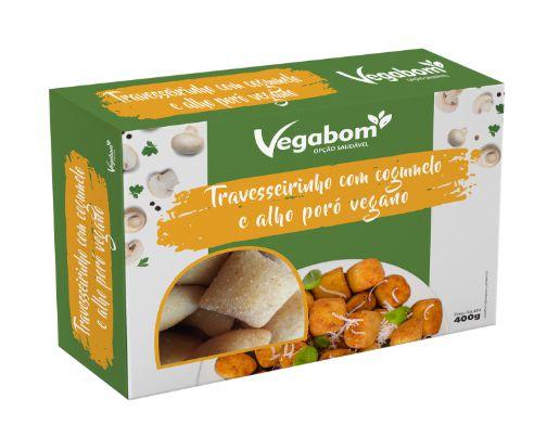 Travesseirinho c/ Cogumelo e Alho Poró 300g - Vegabom