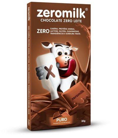 Chocolate Zeromilk 80g - Genevy