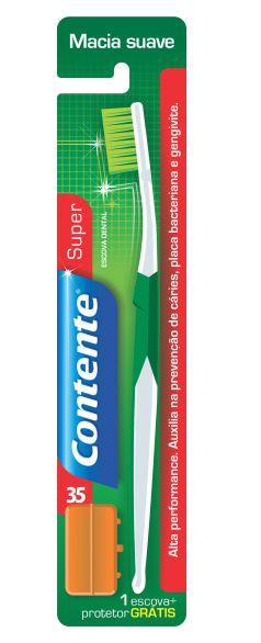 Escova Dental Macia - Contente