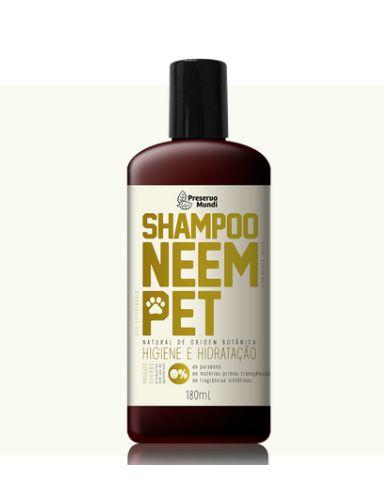 Shampoo de Neem Pet 180ml - Preserva Mundi