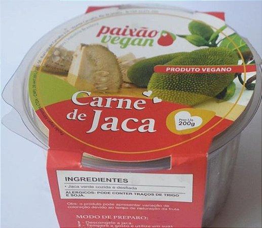 Carne de Jaca Desfiada Congelada - Paixão Vegan