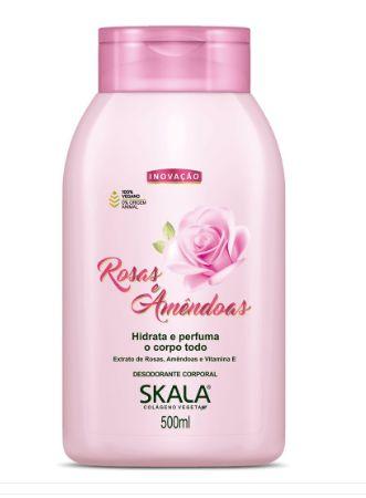Hidratante Rosas e Amêndoas 500ml - Skala