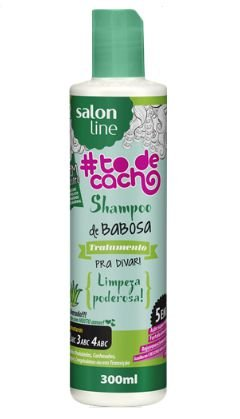 Shampoo de Babosa 300ml - Salon Line