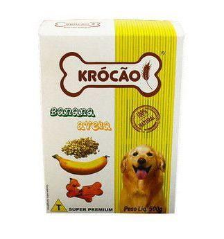 Biscoito Integral Banana e Aveia 500g - Krócão