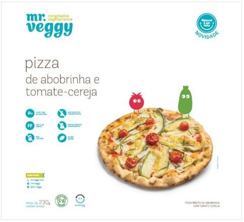 Pizza Vegana 230g - Mr. Veggy