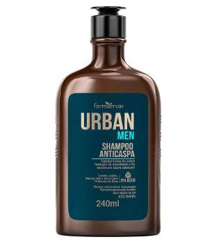 Shampoo Anticaspa Masculino 240ml - Farmaervas
