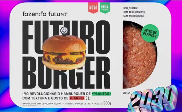 Futuro Burger 2030 - Fazenda Futuro