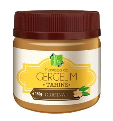 Manteiga de Gergelim 180g - Eat Clean