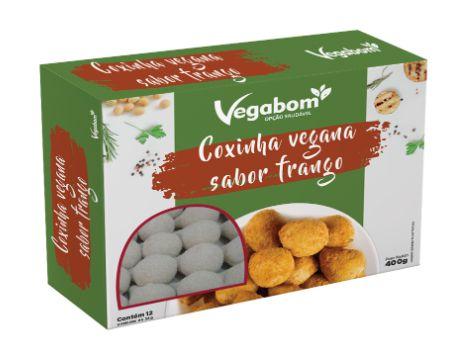 Coxinha Vegana 400g - Vegabom