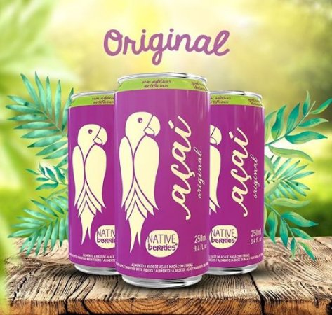 Suco de Açaí 250ml - Native Berries