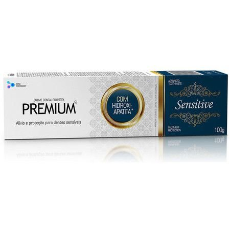Creme Dental Premium Sensitive 100g - Suavetex