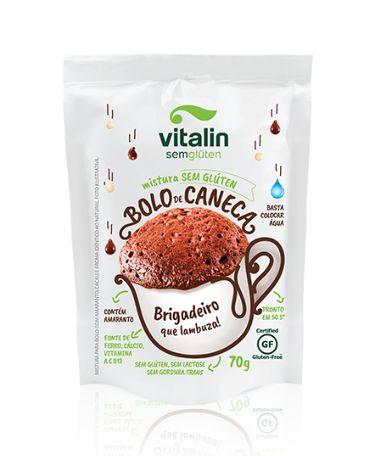 Mistura p/ Bolo de Caneca 70g - Vitalin