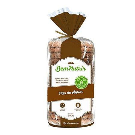 Pão de Forma Vegano 500g - Bem Nutrir