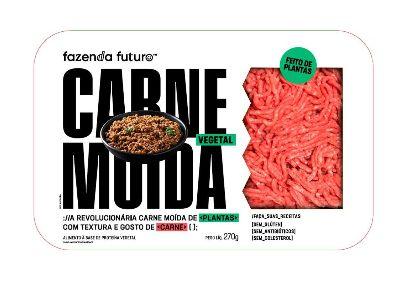 Carne Moída Vegetal 2030 270g - Fazenda Futuro