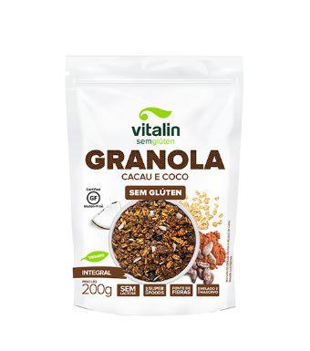 Granola Sem Glúten 200g - Vitalin