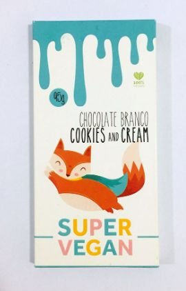 Chocolate Linha Clássica 95g - Super Vegan