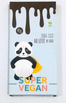 Chocolate Linha Côco 95g - Super Vegan