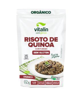 Risoto de Quinoa Orgânico 150g - Vitalin