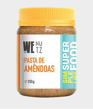 Pasta de Amêndoas 250g - We Nutz