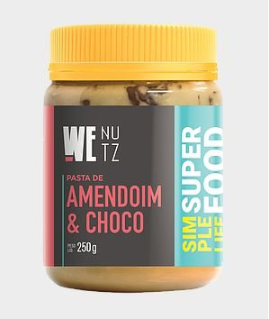 Pasta de Amendoim c/ Chocolate 70% 250g - We Nutz