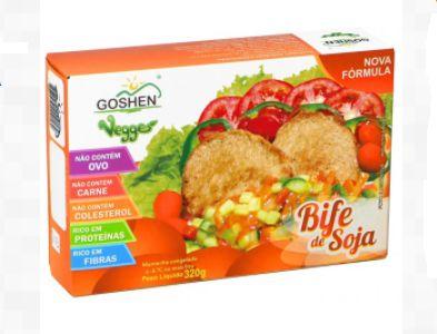 Bife de Soja 320g - Goshen