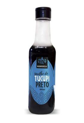 Molho de Tucupi Preto 150ml - Manioca
