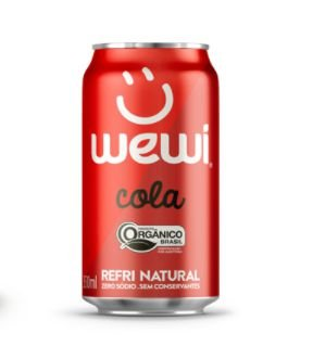 Refrigerante Orgânico 350ml - Wewi