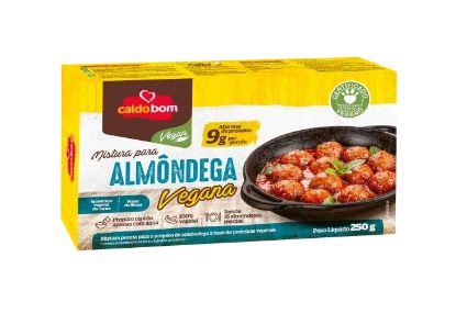 Mistura p/ Almôndega Vegana 250g - Caldo Bom