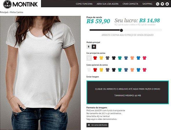Crie sua Loja Online de Camisetas - Anuncie na Revista Portal ... b11fd334f60