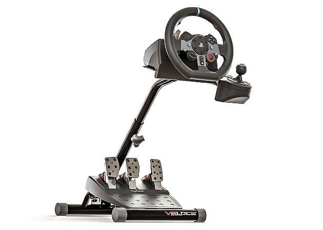 VELOCE V1.5 - Suporte para volantes compatível com Logitech e Thrustmaster