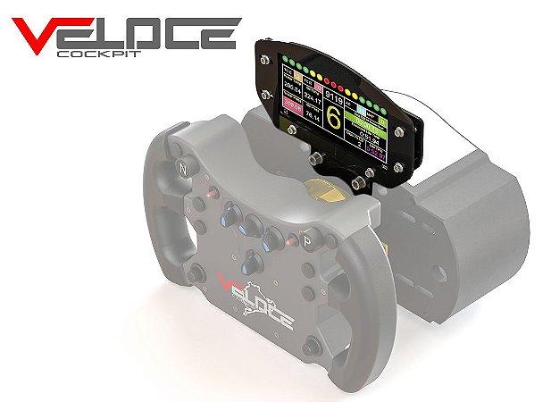 VELOCE WHEELBOX - Suporte Dashboard para celular compatível com modelos SAMSUNG S8 / S9 e base FANATEC V2 / V2.5