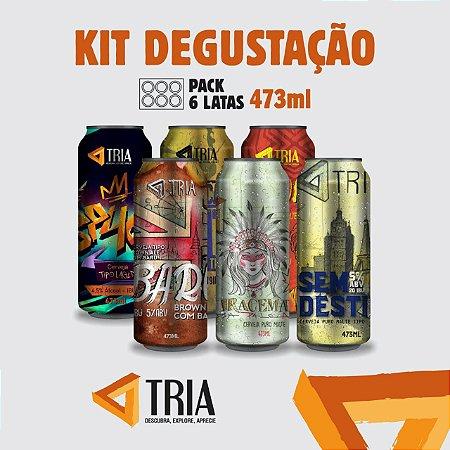 Kit Degustação (Pack 6 latas de 473ml)