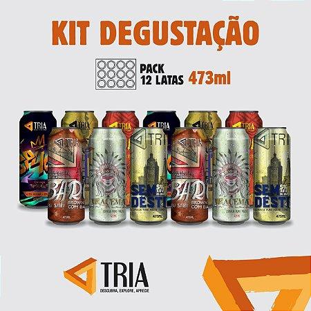 Kit Degustação (Pack de 12 Latas 473 ML)