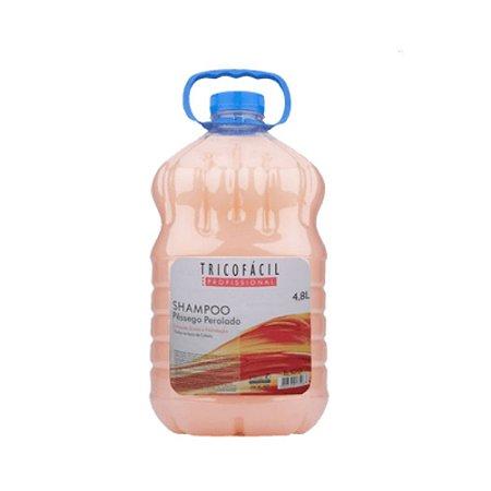 Shampoo 4,8 L PESSEGO PEROLADO Tricofácil