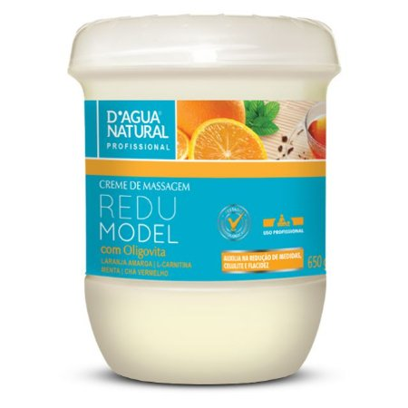 Creme de Massagem Redumodel 650g D'Agua Natural