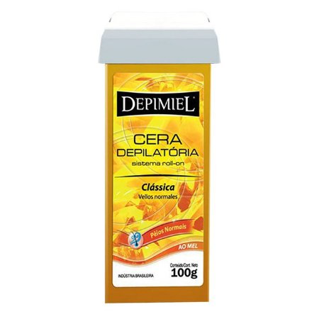 Cera Roll-On Clássica 100g Depimiel