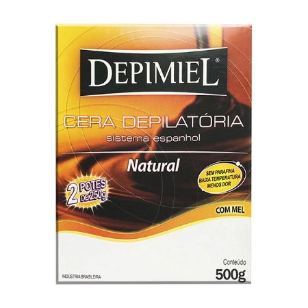 Cera Natural 500g Depimiel