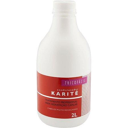Condicionador de Manteiga de Karité Sem Sal Profissional 2l TricoFácil