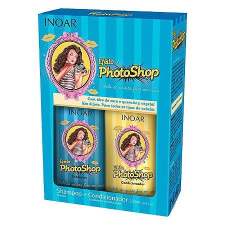 Kit Duo Shampoo 250ml + Condicionador 250ml Photoshop Inoar