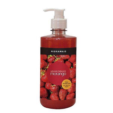 Sabonete Hidratente Morango 500ml Hidramais