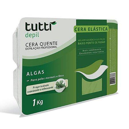 Cera Elástica Algas 1kg Tutti Depil