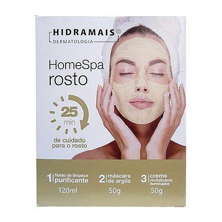 Kit de Cuidado Facial Home Spa Hidramais