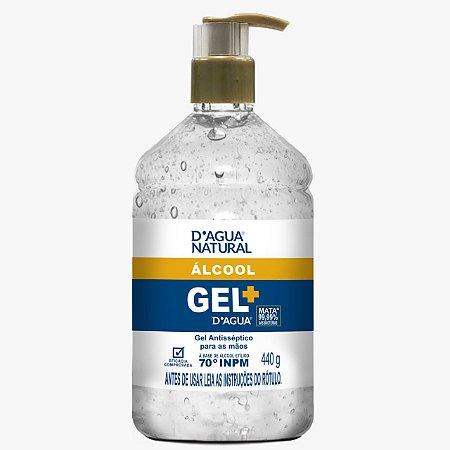 Gel Antisséptico para as Mãos 440g D'Agua Natural