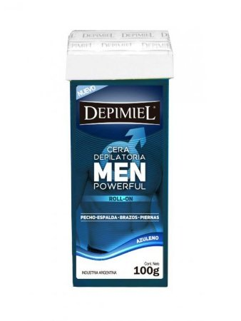 Cera Roll-on Men Powerful 100g Depimiel