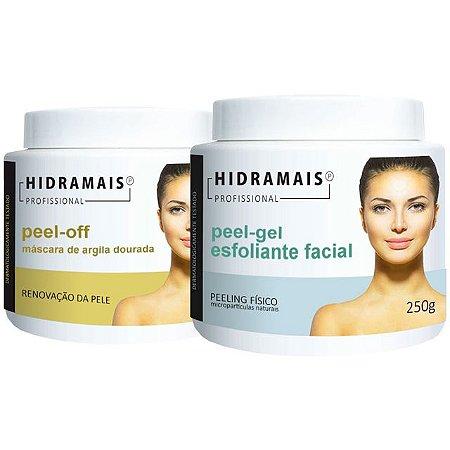 Kit Peel-gel Esfoliante E Peel-off Máscara Hidramais 250g Cd