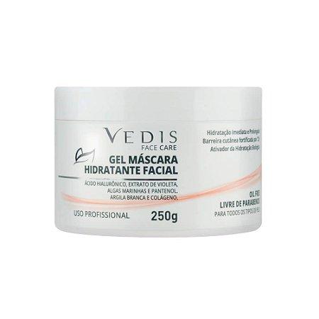Gel Máscara Hidratante Facial 250g Vedis