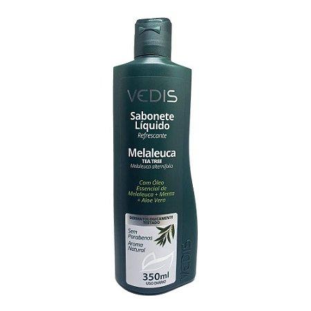 Sabonete Líquido Melaleuca 350ml Vedis